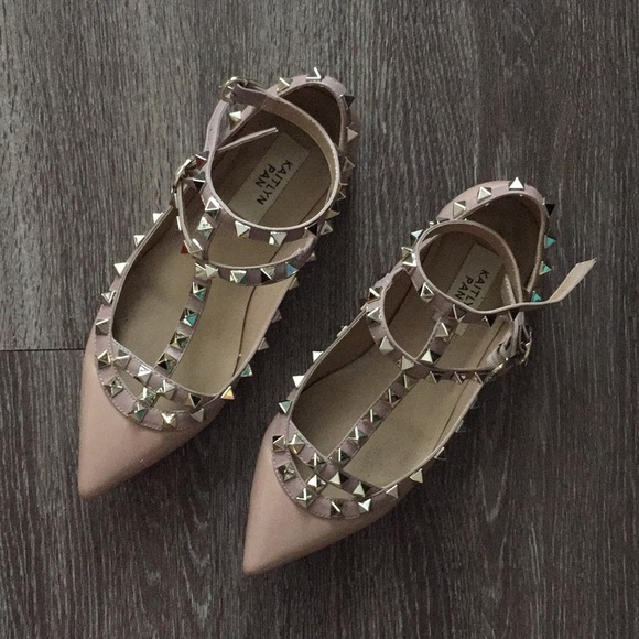 be8b0bfe8f6 Kaitlyn Pan studded flats